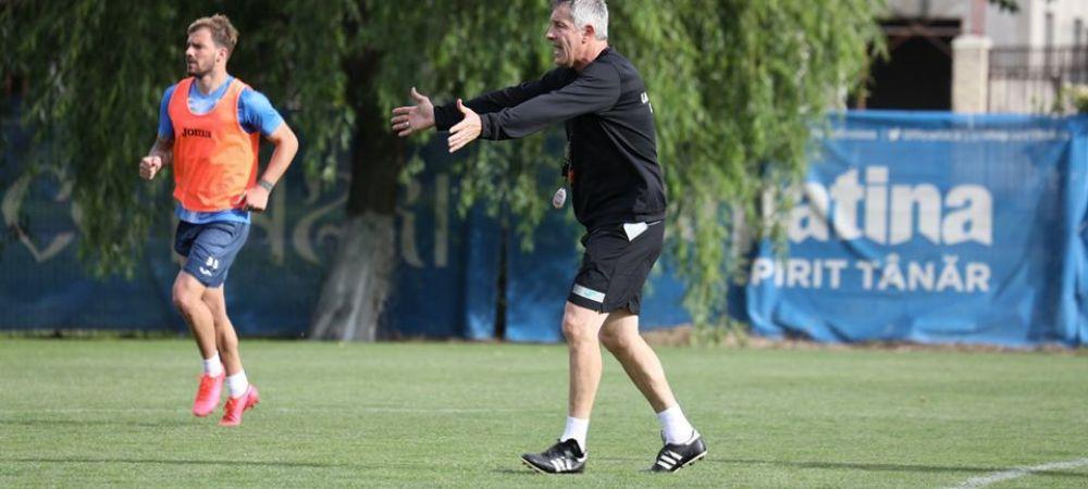 FOTO | Cristiano Bergodi a condus primul antrenament la Craiova! Ce isi propun oltenii dupa reluarea Ligii 1