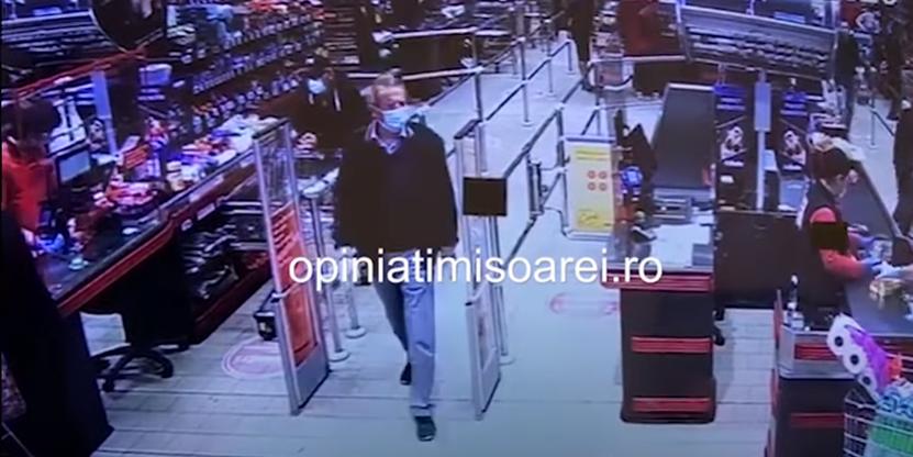 L-au gasit pe barbatul care a pierdut 30 000 de euro intr-un supermarket din Timisoara! Cine e si cum a scapat banii
