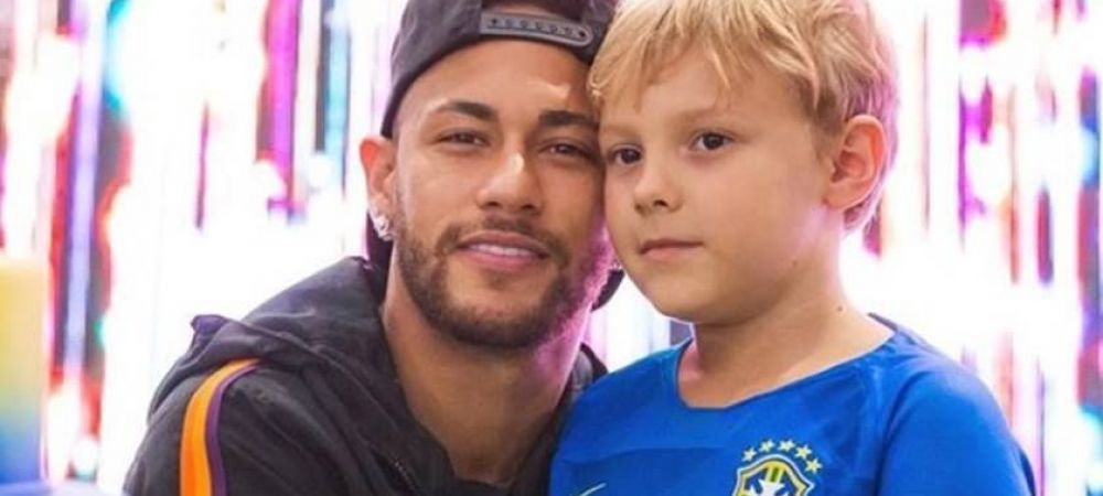 Neymar se distreaza in izolare, alaturi de fiul lui! Cum isi petrec cei doi timpul impreuna