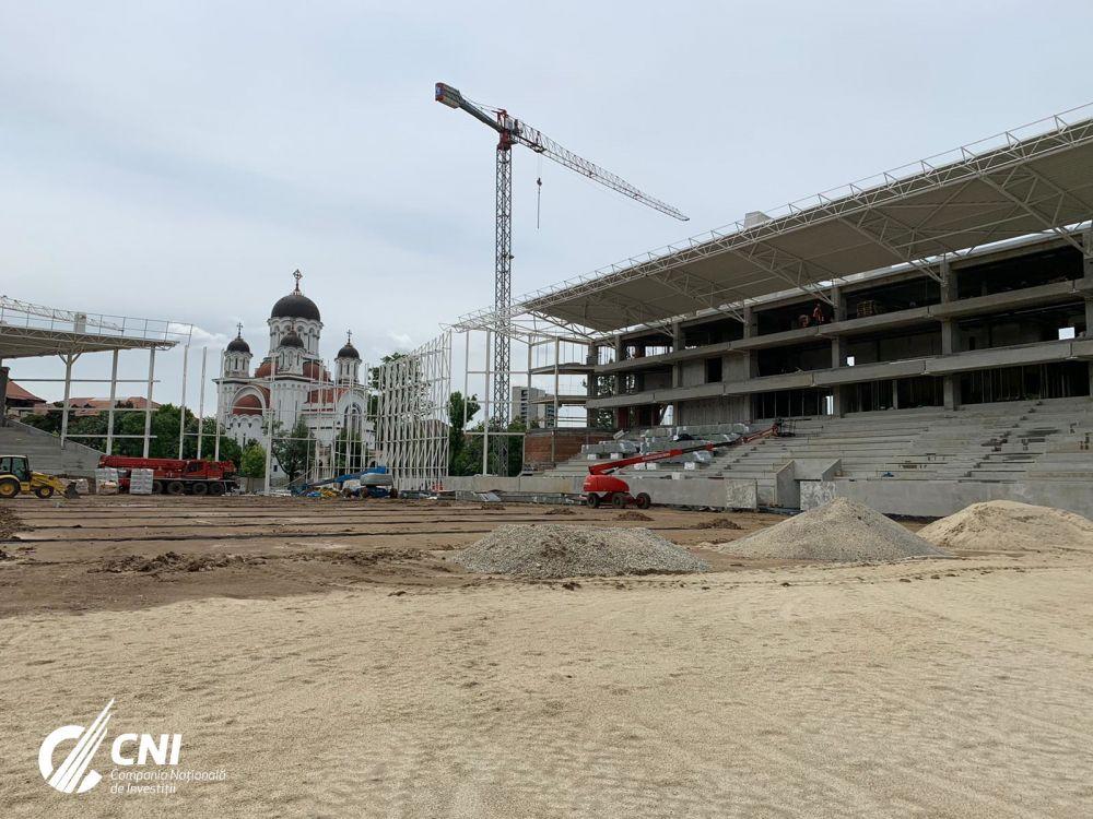 BREAKING NEWS: Arata SPECTACULOS! Noi imagini de la Ghencea, Rapid si Arcul de Triumf! Cum arata stadioanele