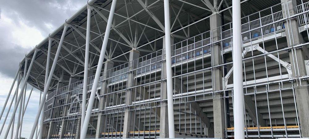 Arata SPECTACULOS! Noi imagini de la Ghencea, Rapid si Arcul de Triumf! Cum arata stadioanele