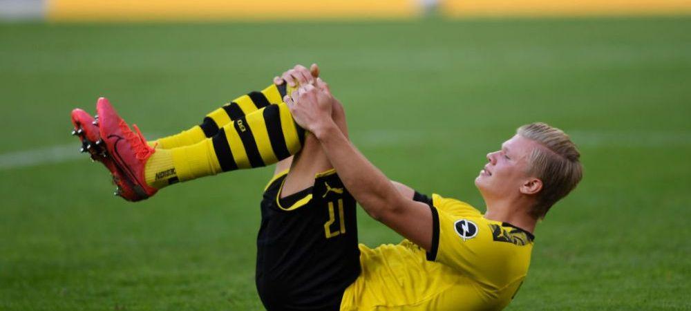 Borussia Dortmund primeste lovitura dupa lovitura! Haaland s-a ACCIDENTAT si un alt jucator rateaza restul sezonului
