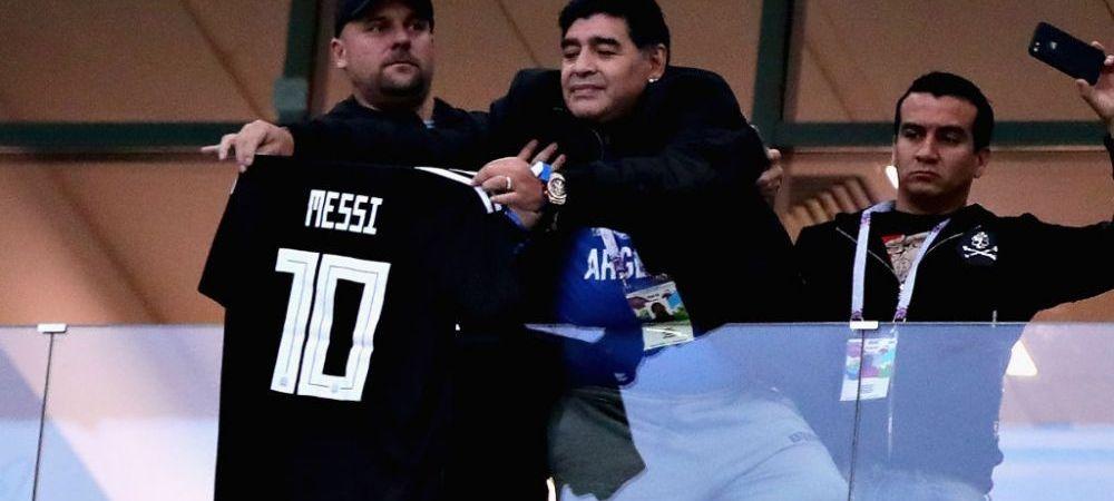 """Ultimul ATAC al lui Diego Maradona la adresa lui Leo Messi: """"Numarul 10 al Argentinei va fi mereu al meu!"""""""