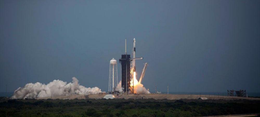 Moment ISTORIC: prima misiune spatiala cu echipaj uman care pleaca din Statele Unite in ultimii 10 ani! E prima misiune PRIVATA cu echipaj uman din istorie