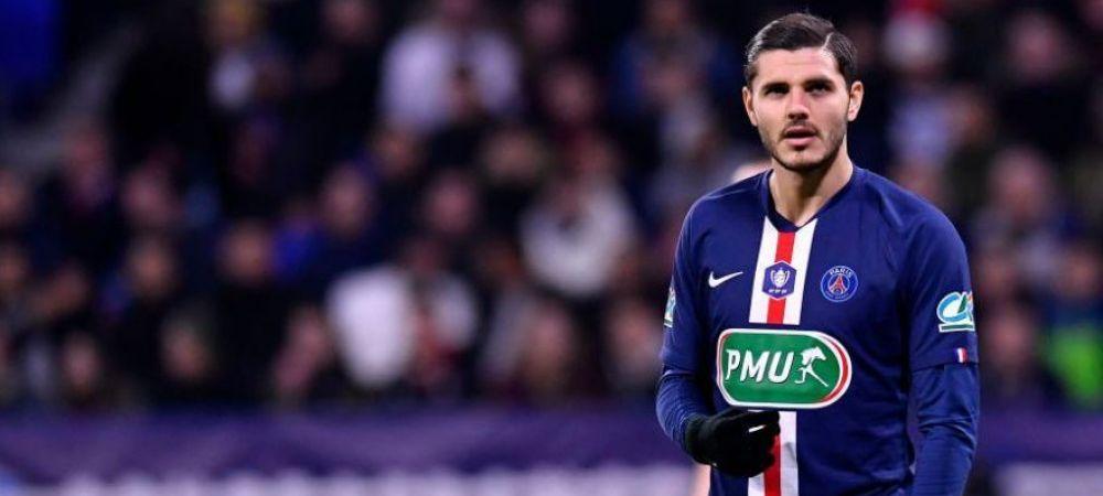 OFICIAL   Mauro Icardi este noul jucator al lui Paris Saint-Germain! Cat au platit seicii si pe cat a semnat argentinianul