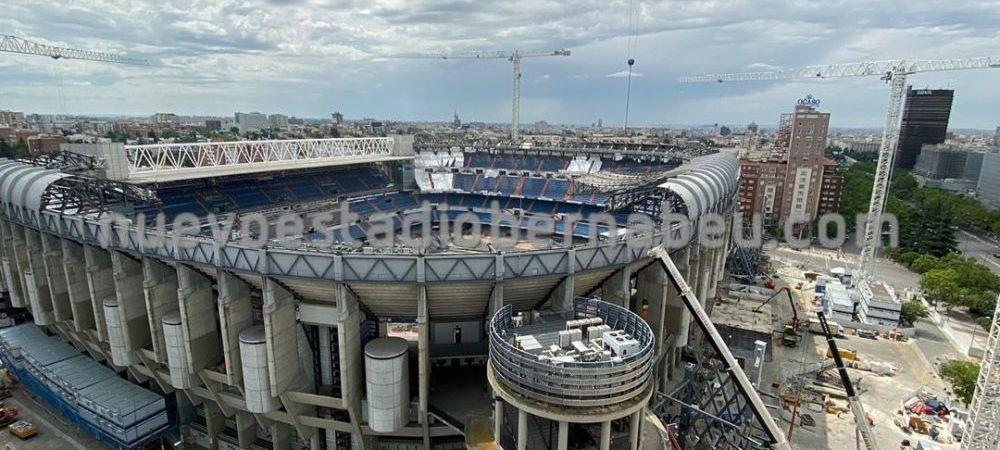 VIDEO   Se DARAMA Bernabeu! Stadionul lui Real Madrid va suferi modificari importante! Unde joaca galacticii pana la finalul sezonului
