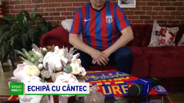 Un cantaret de muzica populara e fan infocat al FCSB vine tocmai din Cluj! El poate fi cel care compune un nou imn pentru ros albastrii