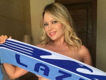 Blonda superba care e gata sa renunte de tot la haine daca echipa ei ia titlul! Acum milioane de fani ai rivalelor sunt gata sa renunte la campionat :)