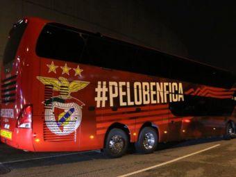 Suporterii Benficai au atacat autocarul echipei! 2 jucatori au ajuns la spital! Ce i-a infuriat pe fani si cum au reactionat oficialii clubului