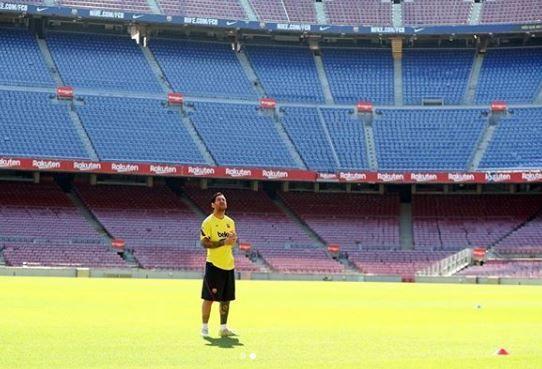 VIDEO: Messi a revenit ACASA! Ce mesaj emotionant a transmis argentinianul la intoarcerea pe Camp Nou
