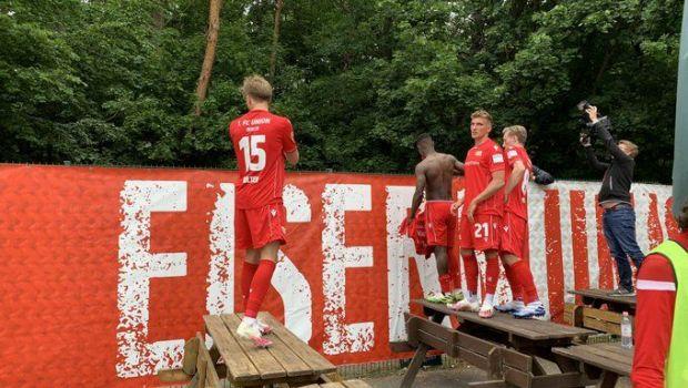 Imagini FABULOASE din Bundesliga! Fanii uneia dintre cele mai iubite echipe au scandat din padure! Ce s-a intamplat dupa meci