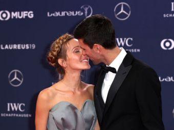 Djokovic IN LOVE! Novak si sotia sa, Jelena, surprinsi intr-un moment de intimitate. Imagini RARE cu tenismenul sarb indragostit