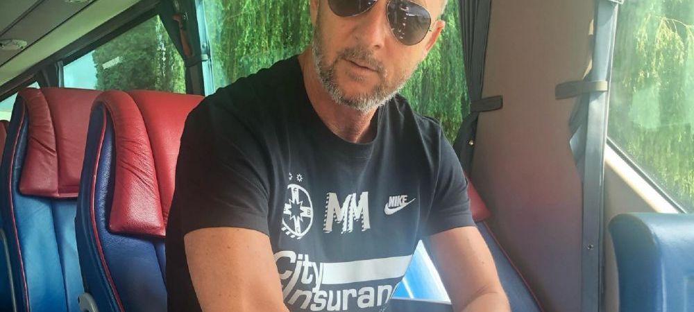 """Aroganta MAXIMA a lui MM in fata lui Dan Petrescu in ziua derby-ului: """"Ce cota are schimbare jucator sub 21 cu jucator peste 21 pana in minutul 1:30?"""""""