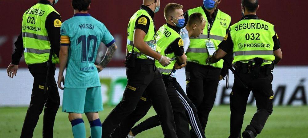"""Pasiunea fiului pentru Messi a """"ingropat-o"""" in datorii! Mama tanarului care a patruns pe teren la meciul cu Mallorca, distrusa dupa gestul lui: """"Nu stiu ce voi face!"""""""
