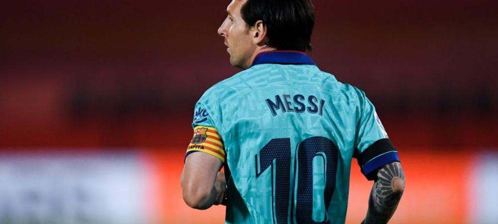 Messi, intr-o noua ipostaza INEDITA! Cum a fost surprins argentinianul in primul meci post-pandemie al Barcelonei