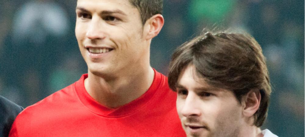 Imagini SENZATIONALE din 'trecut' cu cei mai tari jucatori ai lumii! Cum ar fi aratat Messi si Ronaldo acum 50 de ani