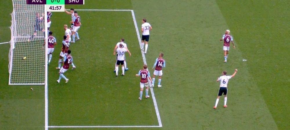 Prima explicatie OFICIALA pentru momentul inexplicabil de la Villa - Sheffield United! GOL VALABIL FURAT lui Sheffield dupa ce mingea a fost SCOASA DIN POARTA