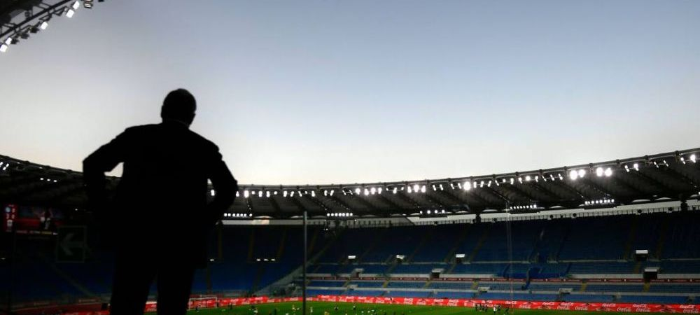 Imaginile care au bagat Italia in depresie! Uriasul Olimpico, PUSTIU la finala Juve-Napoli! Ronaldo, invins in prima finala de Cupa Italiei