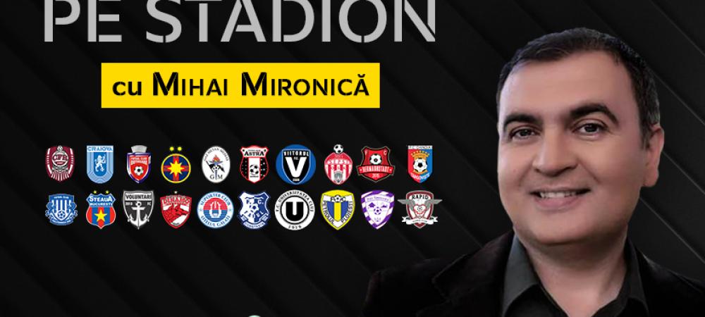 "Chindiile din fotbalul romanesc! ""Istoria s-a repetat aseara!"" Mihai Mironica dupa victoria surpriza a Chindiei cu Viitorul"
