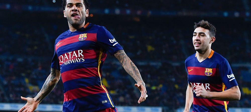 Cel mai titrat fotbalist din istorie vrea sa revina intr-un campionat important din Europa! La ce echipa vrea sa joace Dani Alves