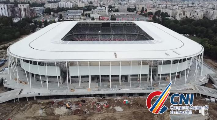 VIDEO   Stadionul Steaua, in fata ultimelor finisaje! Arena din Ghencea este aproape gata: cum arata cele mai recente IMAGINI