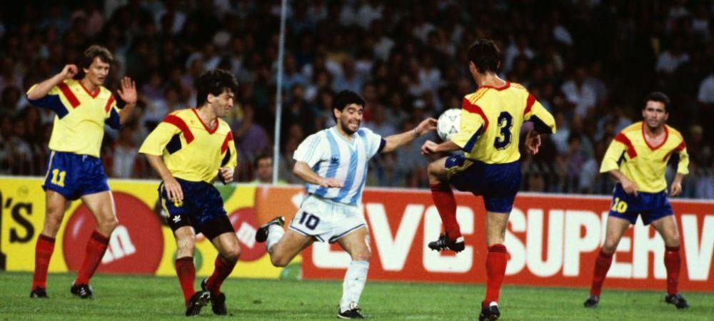 Maradona a rememorat confruntarea cu Romania din urma cu 30 de ani! 'El Pibe D'Oro' isi aminteste meciul in detaliu. Romanii pe care i-a remarcat
