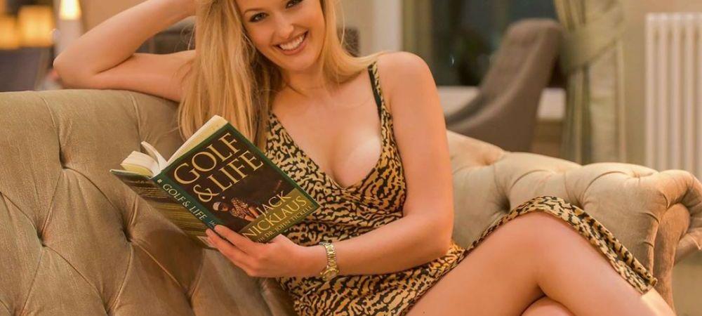 Golful poate fi un sport FIERBINTE! Ea e cea mai SEXY sportiva din Marea Britanie! Cum isi rasfata fanii in mediul online