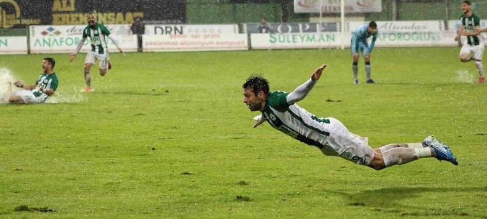 Rusescu a facut SHOW in Turcia! Atacantul, decisiv in victoria echipei sale! A inscris doua goluri in 3 minute