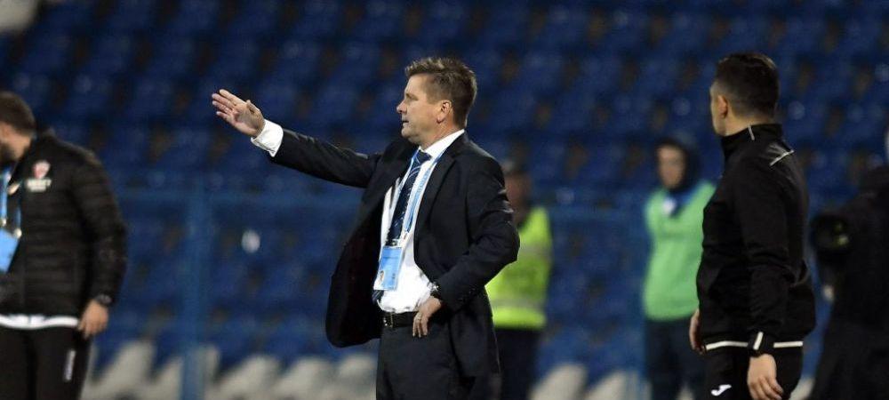 Dusan Uhrin nu tine cont de presedintele clubului!Ce decizie a luat antrenorul lui Gaz Metan inaintea meciului cu FCSB