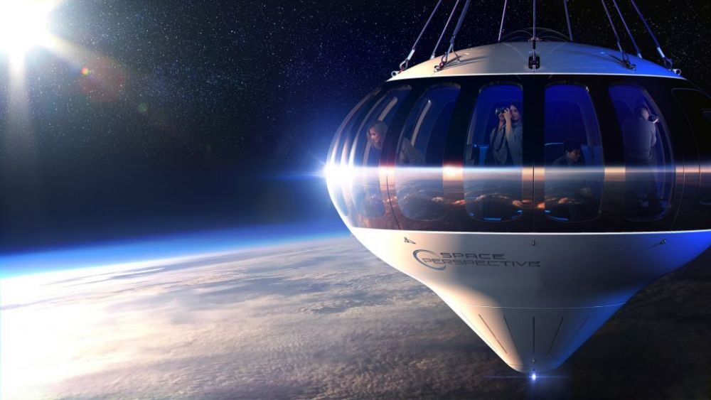 Propunere inedita a unei firme spatiale! Vor sa trimita pasageri in stratosfera intr-un balon! Cand ar fi gata proiectul