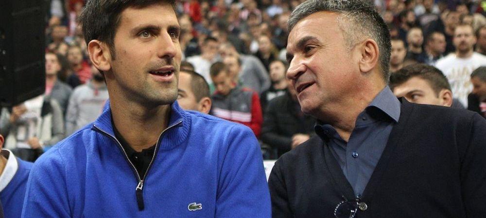 """Tatal lui Novak Djokovic IL URASTE pe Roger Federer: """"Retrage-te, du-te creste-ti copiii, schiaza! Timpul tau s-a dus!"""""""
