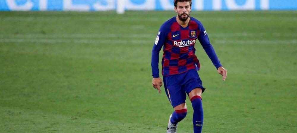 """Pique a dat titlul in La Liga! Fundasul Barcelonei comenteaza arbitrajul in favoarea Realului: """"La ce am vazut, e greu sa piarda puncte!"""""""