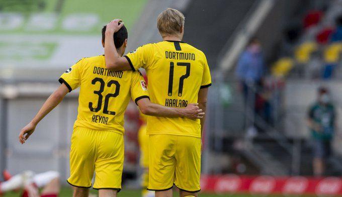 Baiatul asta e EXTRATERESTRU! Haaland, inca doua goluri pentru Dortmund! Faza mondiala a Borussiei la primul dintre ele