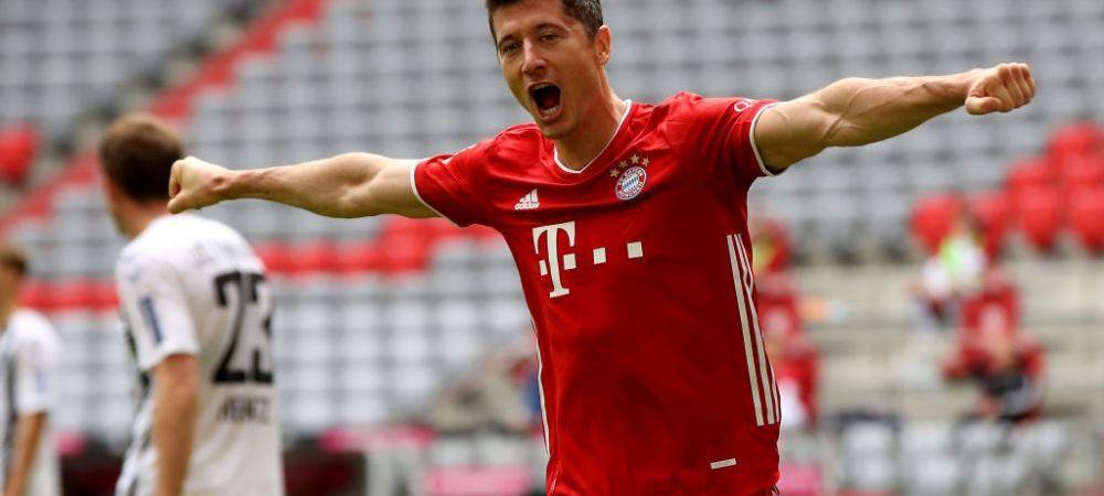 Robert Lewandowski scrie istorie la Bayern! Ce record a doborat polonezul dupa cele doua goluri din meciul cu Freiburg