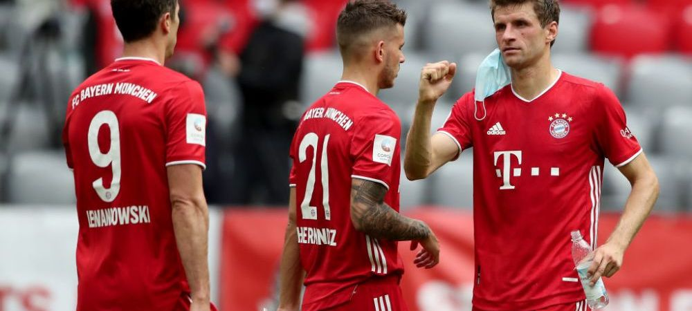 Au bagat un copil in teren! Record pentru Bayern: e cel mai tanar debutant din istoria clubului