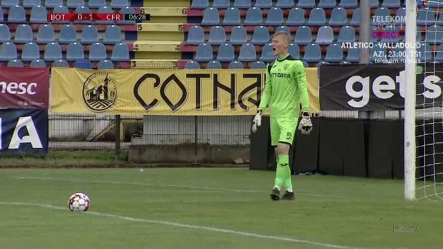 FATALA lui Super Dan la Botosani! A trimis un COPIL de 17 ani in poarta! Hindrich a debutat in Liga 1