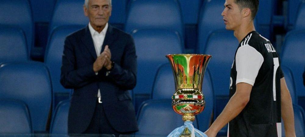 Ironii DULCI la adresa lui Ronaldo! Cum sarbatoresc fanii lui Napoli victoria in fata lui Juventus din Cupa Italiei! Gluma a devenit VIRALA