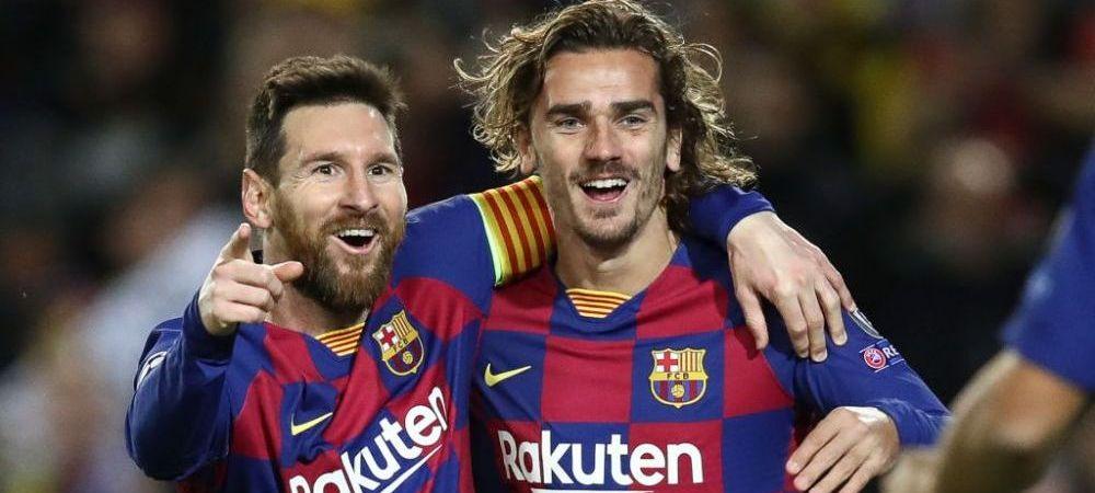 RUPTURA in atacul Barcelonei! Messi si Griezmann, la un pas de BATAIE! Altercatie intre cei doi la un antrenament al catalanilor