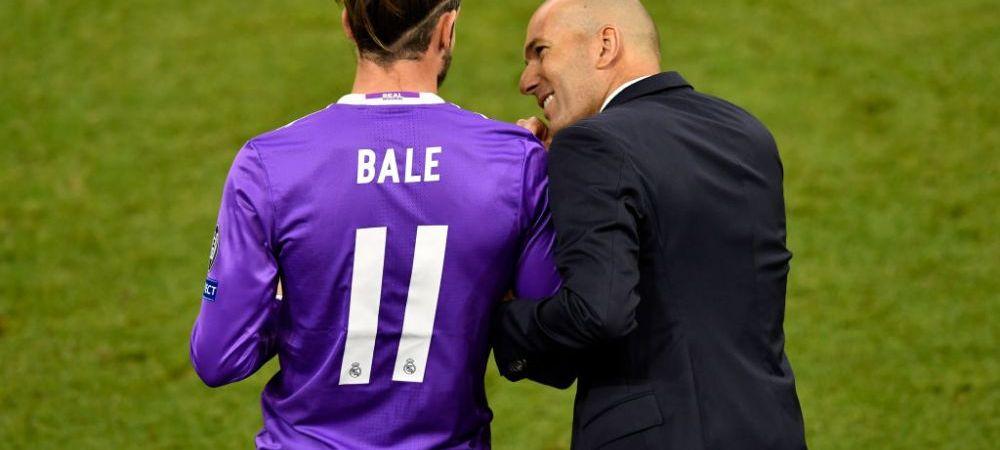 """""""Un antrenor simte cand un jucator vrea sa joace. Lui nu pare sa-i pese!"""" Ce se intampla in vestiarul lui Real Madrid intre Zidane si Bale"""