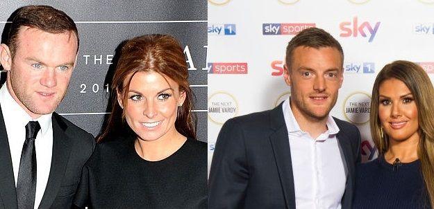"""Galceava de 1 milion de euro! """"RAZBOIUL"""" dintre sotiile lui Rooney si Vardy costa o avere. De la ce-a pornit SCANDALUL anului in fotbalul englez"""