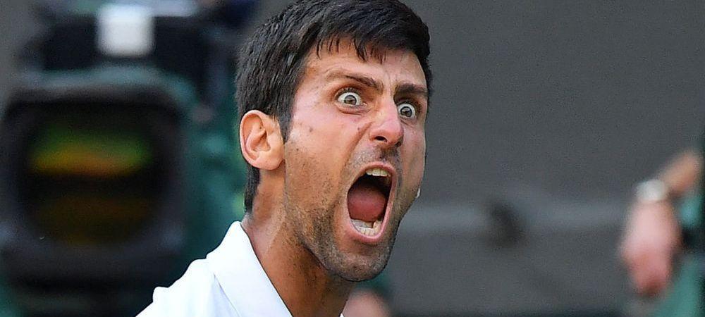 Nu l-ai mai vazut niciodata asa pe Djokovic! Ce a putut sa faca sarbul in semifinala castigata dupa 3 ore in turneul de la Cincinnati