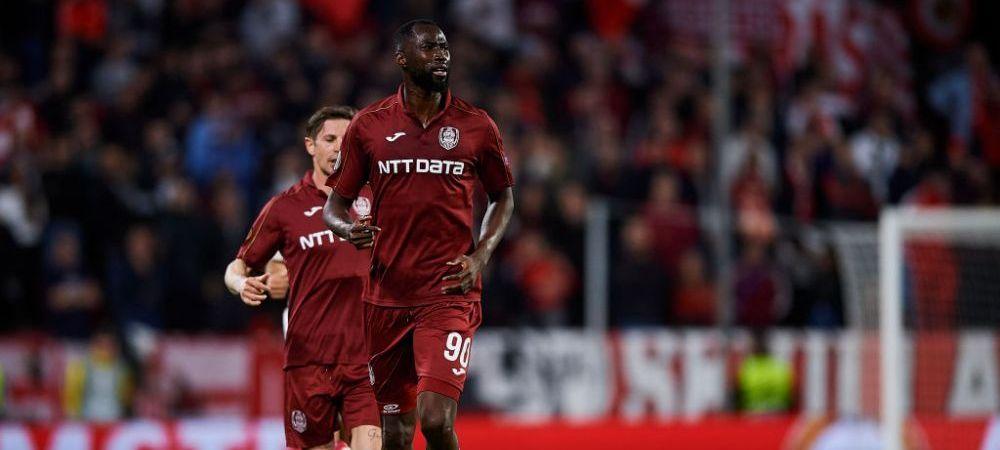 """Ramane CFR Cluj fara atacanti?! Lacina Traore ar putea sa plece de la echipa lui Dan Petrescu: """"Il urmaresc mai multe cluburi"""""""