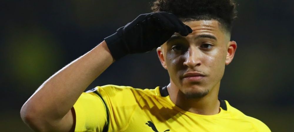 Jadon Sancho merita orice sacrificiu! Cum se gandeste Borussia sa-l convinga pe englez sa ramana inca un sezon in Bundesliga