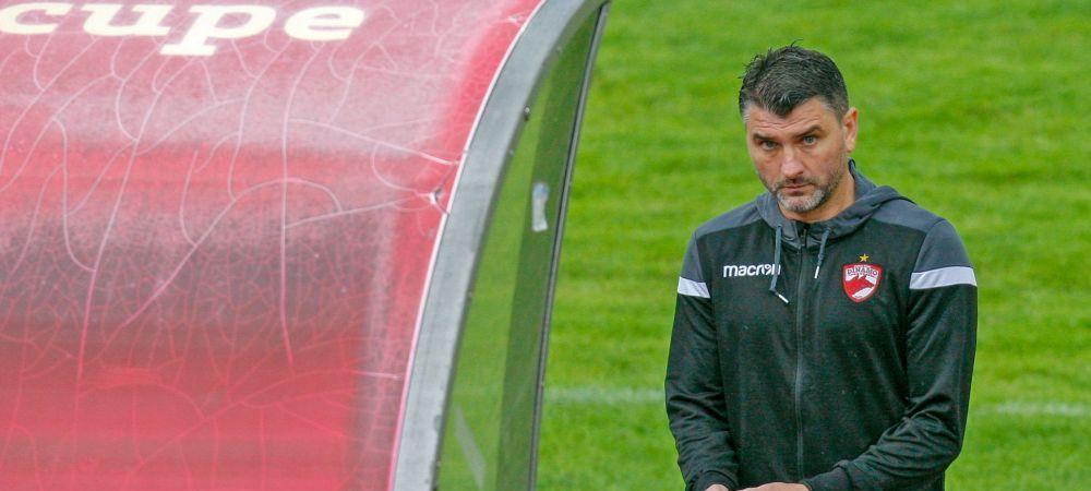 Mihalcea reactioneaza dupa ce s-a scris de scandalul din vestiarul lui Dinamo! Ce a spus antrenorul 'cainilor'
