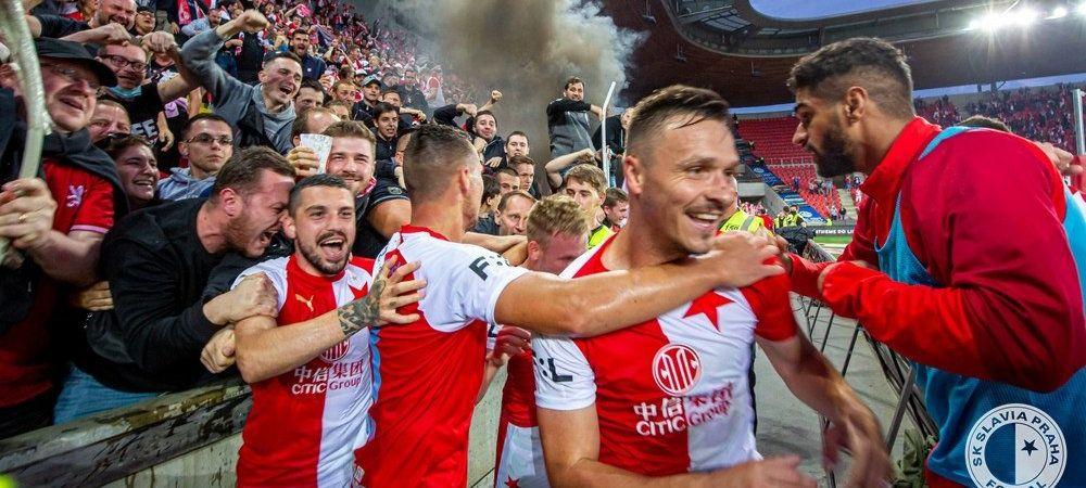 Nicolae Stanciu, campion in Cehia! Slavia Praga a castigat titlul dupa victoria cu Plzen