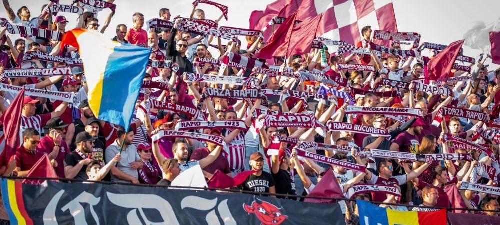Atmosfera de meci in Giulesti! Suporterii au luat cu asalt stadionul la implinirea a 97 de ani de la infiintarea clubului