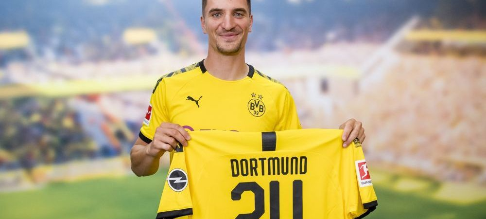 Borussia Dortmund, lovitura importanta pe piata transferurilor! Thomas Meunier a fost prezentat OFICIAL