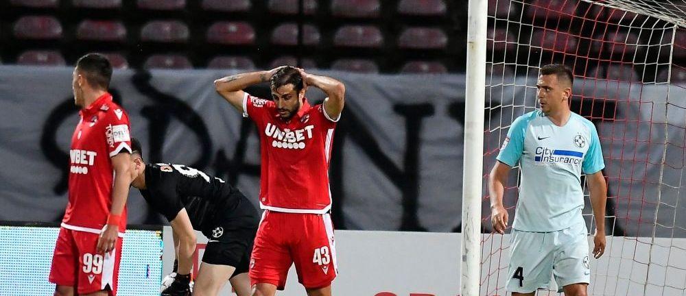 Asa arata imaginea DEZASTRULUI TOTAL! Dinamo, ultima in playout! Se TREMURA pentru oxigen in Stefan cel Mare!