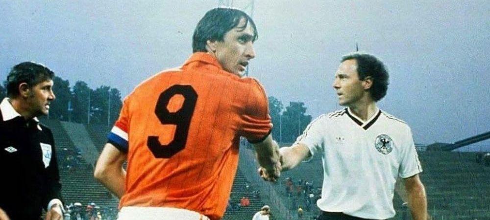 """Tricourile legendarilor Cruyff si Beckenbauer, transformate in PIJAMALE! Povestea FABULOASA a unui fost international roman: """"Soacra s-a mutat cu noi si mi-a facut o surpriza!"""" :)"""