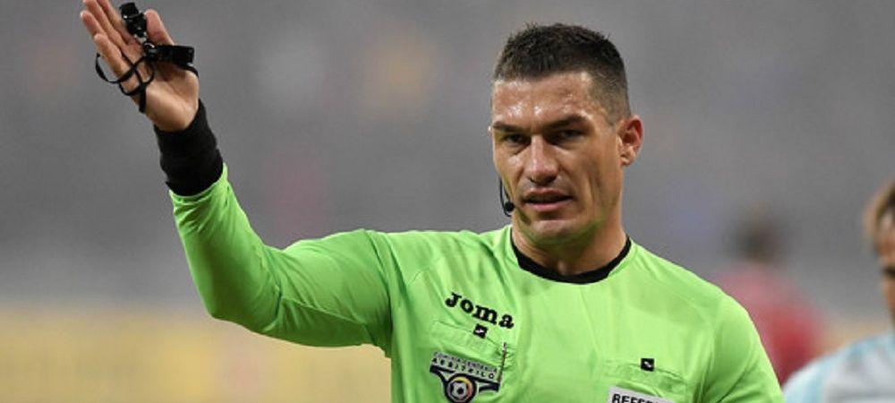 """""""Nu-ti bate joc de noi!"""" Ce i-au reprosat oficialii lui CFR Cluj arbitrului la pauza meciului cu Universitatea Craiova!"""